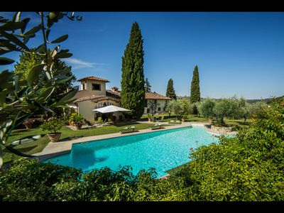 Photo for FABULOUS 8BR - 7.5BA VILLA W/ STUNNING POOL & VIEWS IN TOP TUSCANY LOCATION!