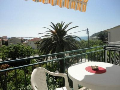 Photo for Two bedroom apartment with balcony and sea view Podaca (Makarska)