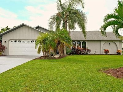 Photo for Alluring Cape Coral Home with Pool, Lanai, & Dock  with gulf access!