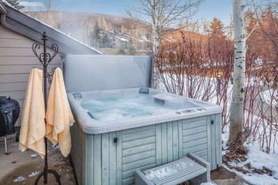 Hot Tub for our guests private use