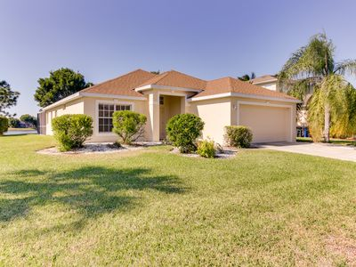 Photo for Waterfront home in exclusive community w/ private pool - golf nearby!