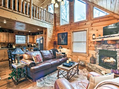 Photo for NEW-Cabin w/Hot Tub-Near Pigeon Forge & Gatlinburg
