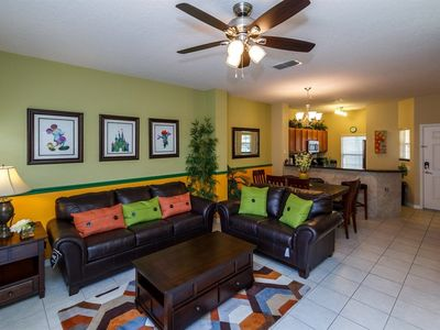Photo for Magical Mickey Townhouse.  Renovated, Sleeps 6, Private Pool, 5 Miles to Disney!