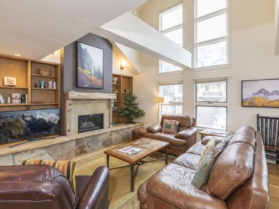 Photo for Cozy & Comfortable Family Friendly Ski In Ski Out Condo. Perfect Year Round!
