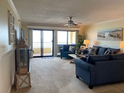 Living Room - Sit back and just enjoy the views!