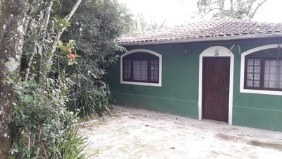 Photo for House with pool and barbecue in Camburi