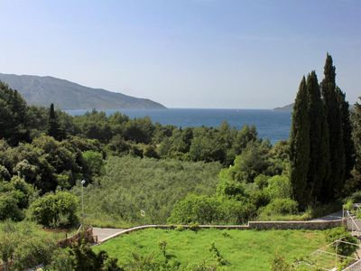 Photo for Two bedroom apartment with terrace and sea view Stari Grad, Hvar (A-4016-a)