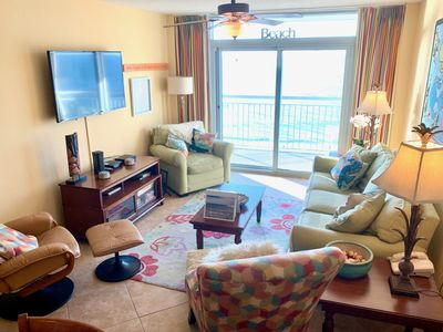 Photo for Newly Remodeled Oceanfront Condo w/ 2 Masters W&D, WiFi, HD Cable, Large Deck