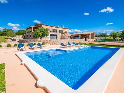 Photo for 3 bedroom Villa, sleeps 6 in Son Carrió with Pool and WiFi