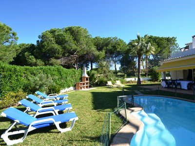 Photo for 4 bed room Vila Vilamoura Private pool Free WIFI