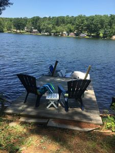 Photo for Charming, relaxed and serene Lake Cottage with wonderful views and lake access