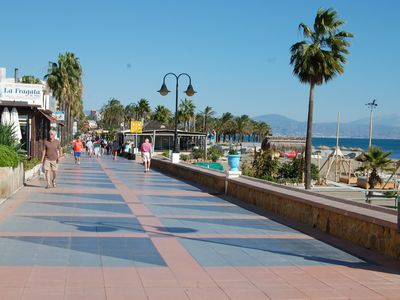Photo for Very nice vacation apartment with 2 bedrooms near La Carihuela Beach ..