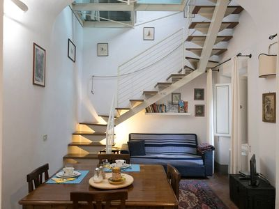 Photo for Releais Sassetti Leone apartment in Pisa with WiFi, air conditioning & private parking.