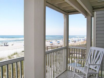 Photo for Beachfront Condo in Small Resort. Enjoy More Space on the Sand!