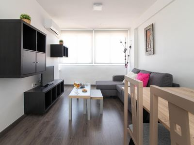 Photo for Luminous three bedrooms five min beach (C14)