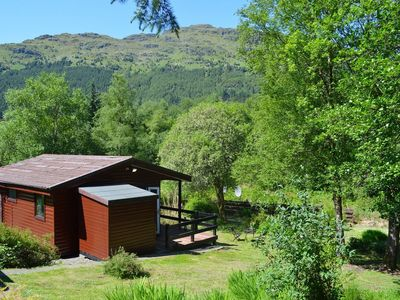 Photo for Ash Lodge, near Dunoon. Pet friendly budget accommodation sleeps 2