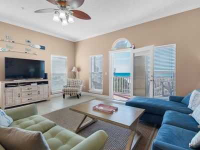 Photo for Gulf VIEWS☼50ft to Beach☼Pet Friendly☼2 Step Sanitizing Process☼3BR Villasea 302