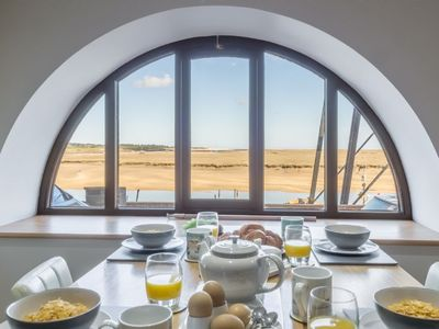 Photo for 16 The Granary Romantic retreat set right in the heart of Wells with unbeatable views of the harbour