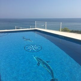 Ocean Front Large Luxury Villa with Pool.