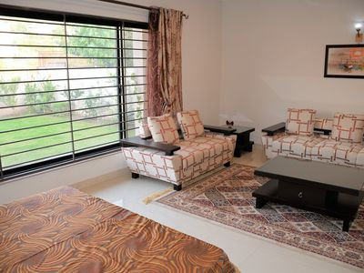 Photo for Deluxe Suite, 2 Bedroom with common bath and a dinning room