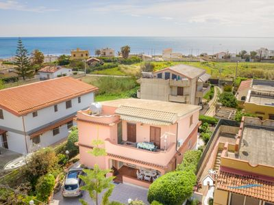 Photo for At 100 meters from the sea, air conditioning, wifi, large and bright