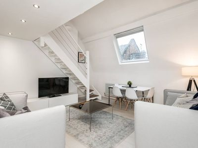 Photo for Luxury, Stylish Penthouse Loft in Historic Centre