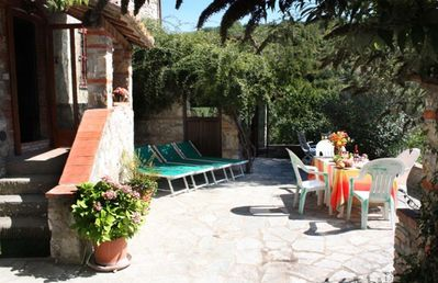 Photo for Lovely  2BR/1BA Apt on Chianti Eco Farm Between Florence & Siena
