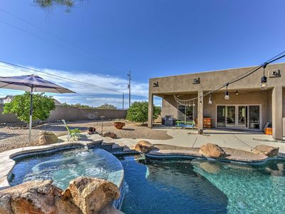 Photo for Luxury Phoenix Home w/Private Pool,Spa & Mtn Views