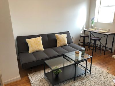 Photo for Spacious 1BD Apt 2 blocks from Convention Center