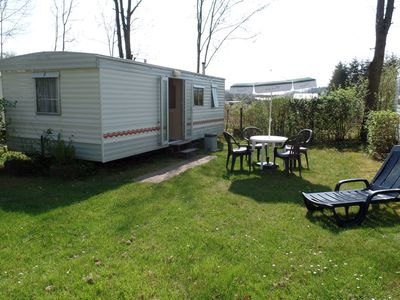 Carefully furnished mobilehome on the border with Luxembourg