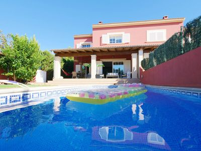 """Photo for The house for 8 persons is located in the south of Majorca, near the village """"Llu"""