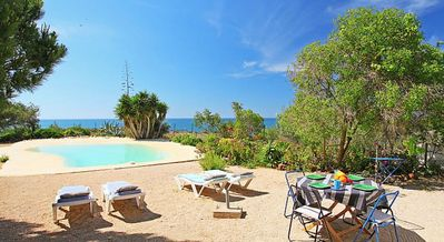 Photo for Villa Sea Lovers Paradise - just 100m from the beach and with its own private pool