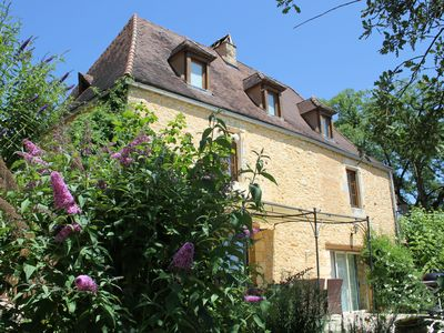 Photo for Beautiful traditional stone house with separate gite and private pool