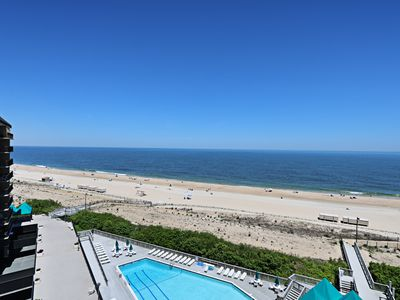 Photo for G810: 3BR Sea Colony Oceanfront Condo! Private, beach, pools & tennis!
