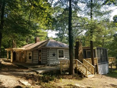 Photo for Serenity Vacation Log Cabin