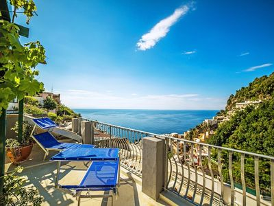 Photo for 3BR Apartment Vacation Rental in Positano, Campania