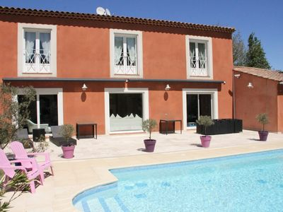 Photo for Large detached villa with air conditioning in a park