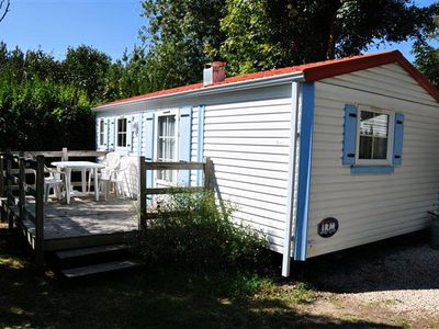 Photo for Camping L'Abri-côte *** - Mobile home Eco 3 rooms 4/5 people