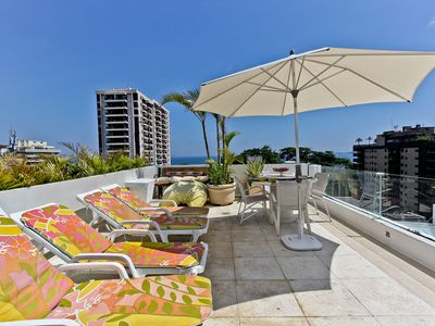 Photo for DISCOUNTED - Arpoador - 2 Bedrooms 5* Penthouse