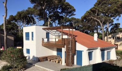 Photo for Hyeres beach - Air-conditioned villa 60m from the beach - Sea View - Renovated in 2017