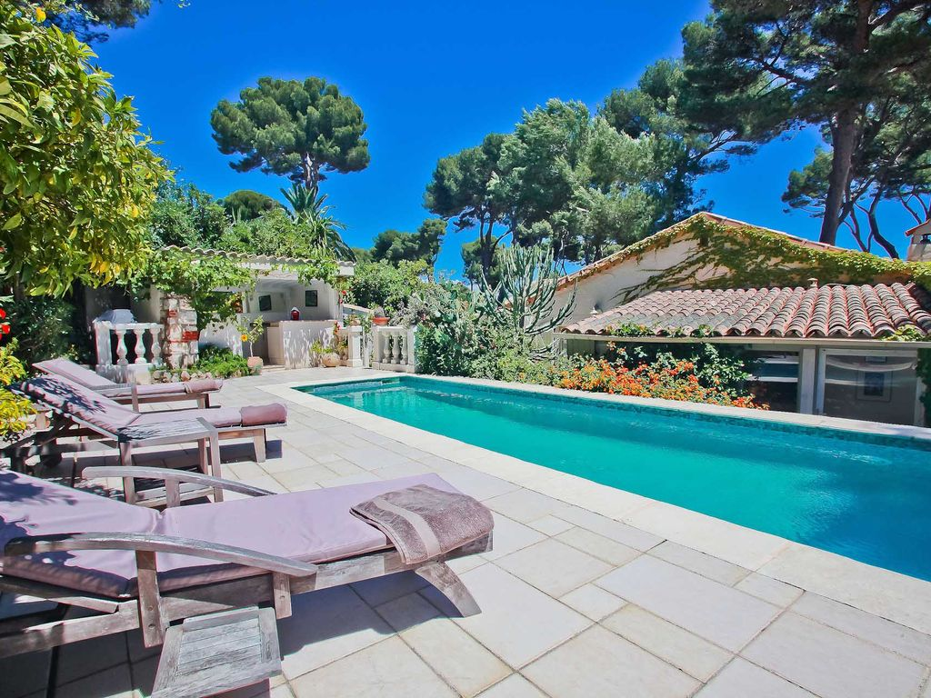 Antibes Villa Rental   Relaxing By The Pool, With Wi Fi