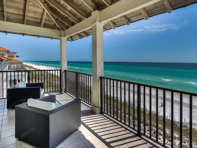 Photo for Gorgeous Gulf-Front Vacation Home in 30A w/ Private Beach Access!