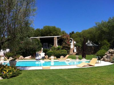 Photo for Independent villa with swimming pool in Costa Smeralda