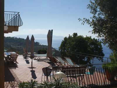 Photo for Villa Azzurra - charming villa with wonderful sea view