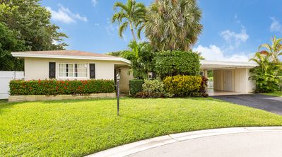 Photo for Beatiful 3 Bed/2 Bath with pool In Heart Of Boca 1 mile to the Beach,Mizner Park