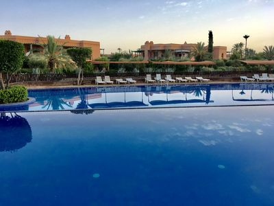 Photo for 1BR Apartment Vacation Rental in marrakesh, jardins de la palmeraie