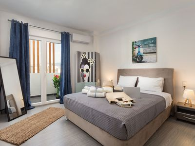Photo for Chic Brand New One-Bedroom Apt in Central Athens
