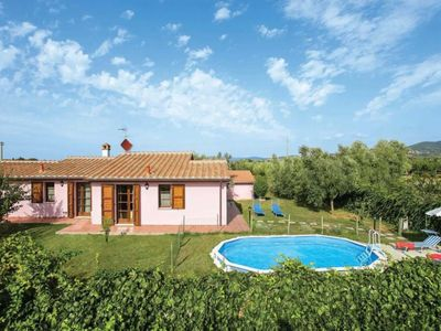 Photo for Villa in Donoratico with 2 bedrooms sleeps 4