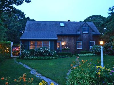Photo for Amazing downtown Edgartown - Well Loved Family cottage -Walk to Town and Beaches