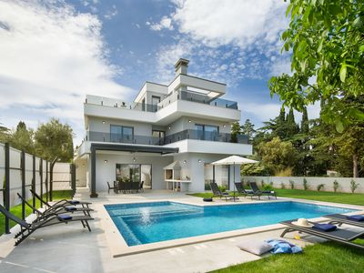 Photo for Villa K Modern new villa, sea view, pool, near to beach